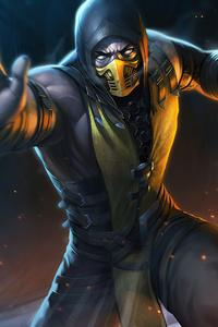 Scorpion Mortal Kombat Game 5k