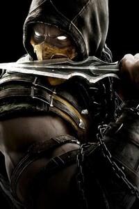 240x320 Scorpion Mortal Kombat