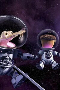 Scrat Ice Age Collision Course