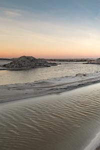 Sea Beach Sand Ocean Sky 5k