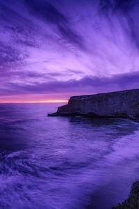 Sea Dusk Evening