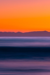 1080x2280 Sea Long Exposure Sunset 5k