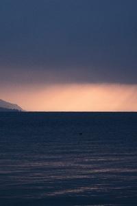 Sea Ocean Horizon Cloudy 5k
