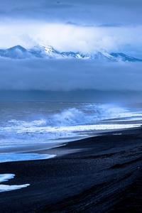Sea Ocean Waves Beach 4k
