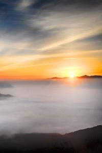 1242x2688 Sea Of Clouds