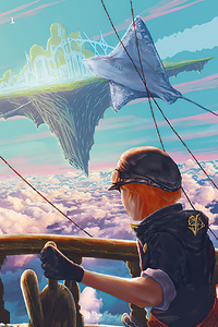 800x1280 Sea Of Clouds Fantasy 4k
