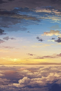 Sea Of Clouds Painting