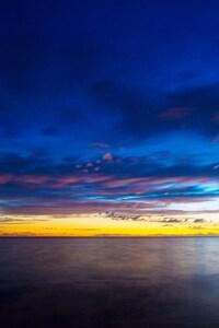 1080x1920 Sea River Sunset