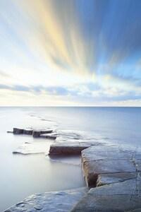 750x1334 Sea Sky Horizon