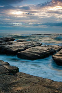 540x960 Seascape Ocean Rocks