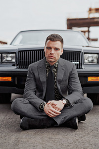 Sebastian Stan GQ April 2018