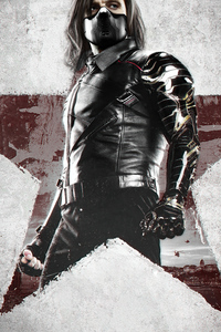 480x854 Sebastian Stan The Falcon And The Winter Soldier 5k