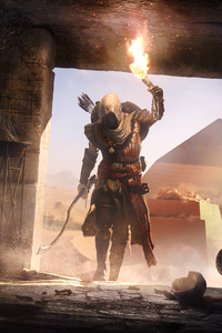1440x2960 Secrets Of The First Pyramids Assassins Creed Origins