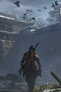 1080x2280 Sekiro Shadows Die Twice Game Official Artwork 5k