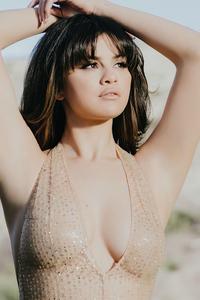 1080x1920 Selena Gomez Arms Up 4k