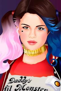 Selena Gomez As Harley Quinn