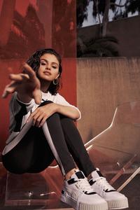 1080x1920 Selena Gomez Puma Cali Sport Mix 2021