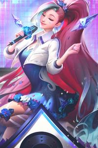 Seraphine League Of Legends 4k
