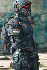 Serbian Special Police Force Soldier 5k
