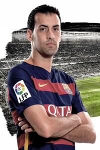 1080x2160 Sergio Busquets Fc Barcelona