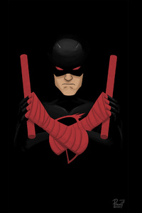 Shadowland Daredevil Artwork