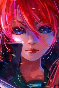 Shakugan No Shana Anime Girl 5k
