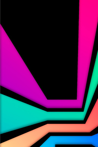 480x854 Shape Of Rectangle Abstract 8k