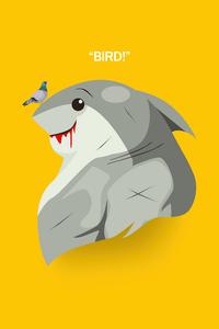 1125x2436 Shark Suicide Squad 5k
