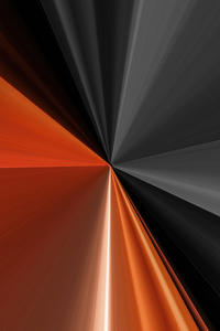 Sharp Lines Grey Orange 4k