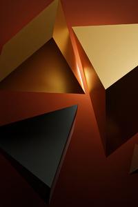 Sharp Shapes Gold 4k