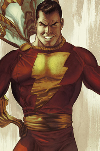 Shazam Comic Artwork