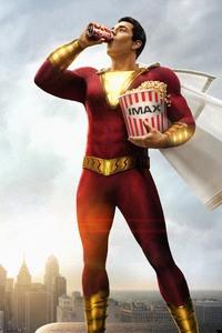 640x960 Shazam Movie 5k Poster