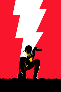 1280x2120 Shazam Movie Art 5k
