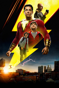 1280x2120 Shazam Movie International Poster 5k