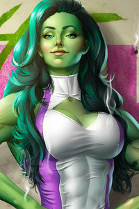2160x3840 She Hulk 4k
