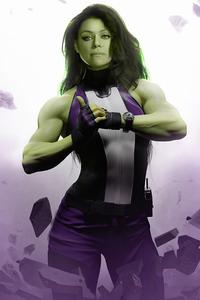 1080x2160 She Hulk Tatiana Maslany 4k