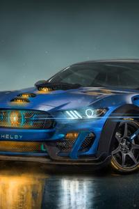 720x1280 Shelby GT350R AMG Artwork
