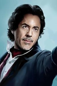 Sherlock Holmes 4k Art