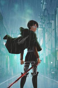 480x854 Shingeki No Kyojin Anime Boy 5k