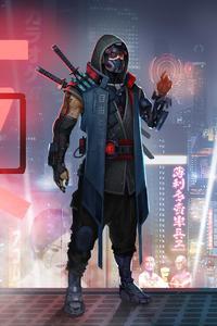 Shinobi In Scifi World 4k