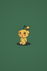 1440x2960 Shocked Pika