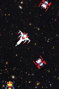1080x2280 Shooter Spaceships Scifi Arcade