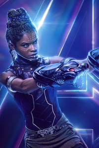 Shuri In Avengers Infinity War New Poster