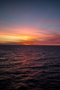 Silent Ocean Sunset 5k