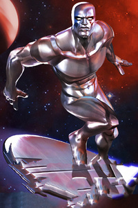 1280x2120 Silver Surfer Marvel Contest Of Champions 4k