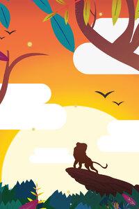 1440x2960 Simba Lion King