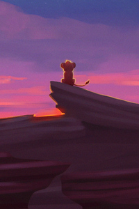 1440x2560 Simba The Lion King