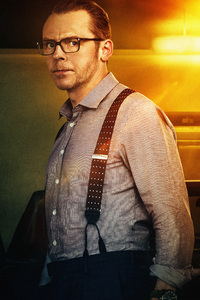 Simon Pegg As Benji Dunn In Mission Impossible Fallout Movie