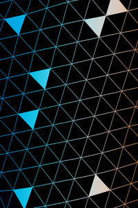 Simple Abstract Triangles 4k