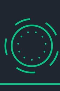 1242x2688 Simple Circle Minimalism